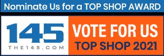 Vote for Us! The145.com Top Shop Award Nomination